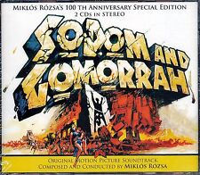 "Miklos Rozsa ""SODOM AND GOMORRAH"" score 1000-Ltd expanded 2CD SEALED"