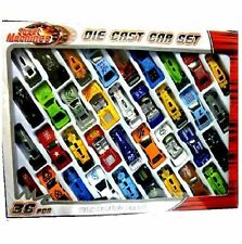 36pc Metal Die Cast Kids Cars Gift Set Xmas F1 Racing Vehicle Children Play Toy