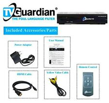 New ListingTvguardian Hd Model 501-Foul Language Tv and Dvd Profanity Filter(New~Box Open)