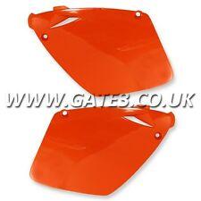 KTM 380EXC EXC 380 1998-2002 ORANGE REAR SIDE PANELS ENDURO TRAIL PLASTICS