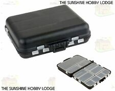 Small Fishing Tackle Anglers Bits Box Ideal For Course Carp Sea Fishing Items
