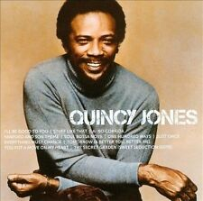 QUINCY JONES Icon CD BRAND NEW 11 Track Compilation