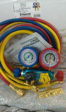 """Imperial, 4-Valve Manifold, 60"""" Hose Set with """"LOW-LOSS"""" FITTINGS, 629-C,"""