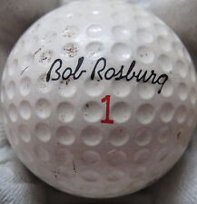 (1) BOB ROSBURG SIGNATURE LOGO GOLF BALL ( RAM MADE IN USA CIR 1967) #1