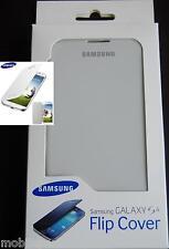 Genuine Samsung Galaxy S4 i9500 White PU Leather Flip Pouch Case EF-FI950BWEGWW