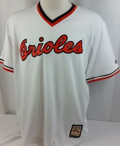 BRAND NEW Majestic Cooperstown Orioles Coolbase jersey Men's Shirt