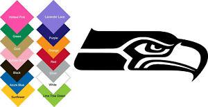 Seattle Seahawks Vinyl Sticker Decal (BUY 2 GET 1 FREE)-Multi-Colors Option
