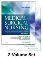 Medical-Surgical Nursing - 2-Volume Set: Assessment and Management of Cli - GOOD