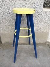 2 tabourets haut design 50 60 ( style prouve ?) stool bar stella ?