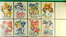 1982 Kellogg's RARE tm sweepstakes insert poster U PICK Giants Patriots Packers