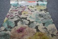 Intissé 455649 Rasch Papier Peint Fleur Multicolore Coloré