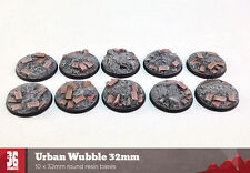 URBAN Wubble 10 x 32mm basi di resina tondo conici