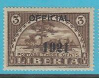 LIBERIA O129 MINT HINGED OG * NO FAULTS VERY FINE !