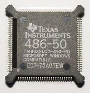 Seltene 486 50MHz Ti Texas Instruments NEU unbenutzt