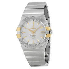 Omega Constellation Silver Dial Ladies Watch 12320352002004