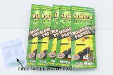 5 Packs JUICY HEMP WRAPS - Mango Papaya Twist Flavored Cigarette Rolling Papers