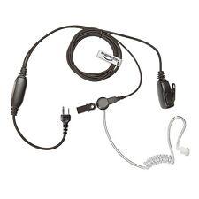 Uniden Vertex Standard Radio 2 Pin Auricular (guardaespaldas Encubierto Auricular acústica)