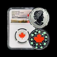 2018 Canada Silver 5 Dollar - NGC SP70 (Perfect Specimen) TOP POP None Finer 🥇