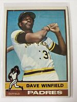1976 Topps Dave Winfield San Diego Padres #160 Baseball Card
