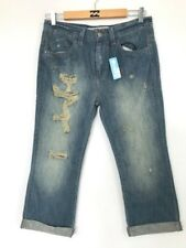 BNWT ROXY LADIES BOYFRIEND CROP JEANS SIZE 10 RRP $119.99