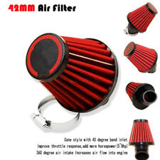 45 Degree Bent Motorcycle Air Intake Filter 42mm inlet Pod Universal For Scooter