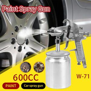 600cc Spray Gun Pneumatic Tool Air Compressor Paint Car Truck Sprayer new