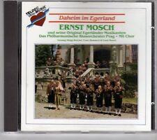 (GK628) Daheim Im Egerland, Ernst Mosch und seine Egerlander Musikanten- 1990 CD