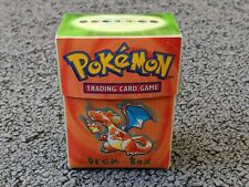 More details for pokemon wotc charizard deckbox   in good condition