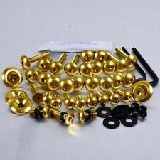 Pro-Bolt Aluminium Carénage Bolt Kit-Gold FCA110G CAGIVA MITO 125 EVO 94-97