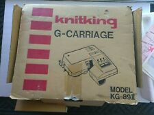 Brother Kg-89Ii Knitting Machine Garter G-Carriage Vintage in Original Box