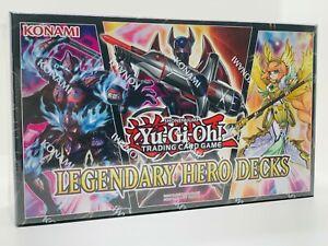 YUGIOH Legendary Hero Decks LEHD Englisch Neu Sealed 1. Edition