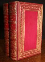 1876 The Treasury of BOTANY Samuel MAUNDER Sotheran Fine Binding New Edition