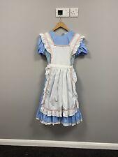 Ex Fancy Dress Hire Stock - Alice In Wonderland / Miss Muffet Dress - Size 12
