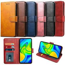 For Xiaomi Redmi Note 9 Case Leather Wallet Protection HeavyDuty Book Cover