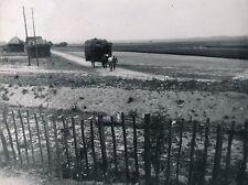 Launois c. 1900 - Attelage Remorque de Foin Ardennes - Div 3797