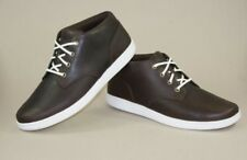 NIB TIMBERLAND EK NEWMARKET CHUKKA DARK BROWN SHOES MEN'S SIZE 11.5 #6854R