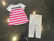 Juicy Couture New & Genuine Baby Girls Pink Cotton 2 Piece With Logo 6/12 MTHS