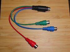 ATI 9-Pin HDTV RGB Component Adapter New 6111017500G