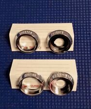 1968 CHEVROLET CAMARO PONTIAC FIREBIRD DASH CHROME KNOB BEZEL 4 PIECE SET NEW
