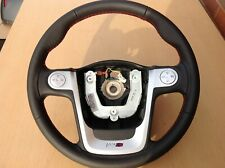 MG3 Mg 3 MULTIFUNCTION STEERING WHEEL WITH RED STITCHING NEW 2012 - 2018