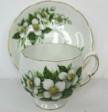 Colclough Vintage Bone China  Tea Cup and Saucer Made in England