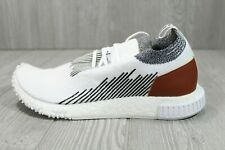 Mens Adidas NMD Racer Whitaker Car Club Monaco Shoes White Black AC8233 Size 8