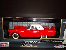 Motormax Ford Thunderbird Softop1956 Red 1/24