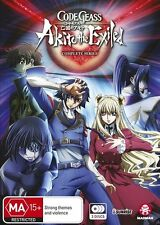Code Geass - Akito The Exiled (DVD, 2017, 3-Disc Set) - sealed - NEW