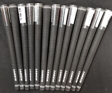 13 X Lamkin Crossline Black Midsize Golf Grips.  Genuine.