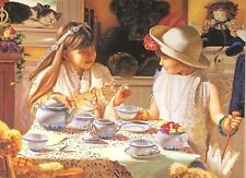 Jigsaw Puzzle- Bits and PIeces - TEATIME TABLE-500 pcs  New/Sealed