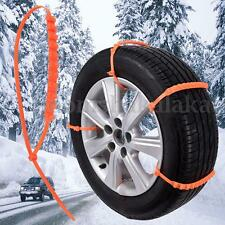 Car/Truck Tire Anti-skid Chain Thickened Tendon Snow Mud Wheel Tyre Cable Ties