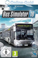 Bus Simulator 18 Key - STEAM Digital Download Code PC Bus Simulator 2018 [DE/EU]