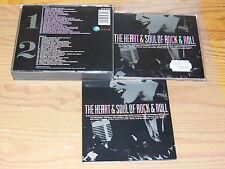 THE HEART & SOUL OF ROCK & ROLL - V.A. / UK TELSTAR 2-CD-BOX 1988 MINT-
