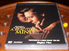 A Beautiful Mind  Editoriale Mondadori  Dvd ..... Nuovo
